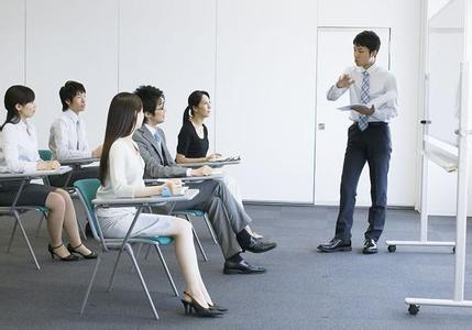 Employee trainings on the meeting room